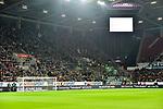 04.11.2018, Opel-Arena, Mainz, GER, 1 FBL, 1. FSV Mainz 05 vs SV Werder Bremen, <br /> <br /> DFL REGULATIONS PROHIBIT ANY USE OF PHOTOGRAPHS AS IMAGE SEQUENCES AND/OR QUASI-VIDEO.<br /> <br /> im Bild: Der Fanblock der Werder Fans<br /> <br /> Foto © nordphoto / Fabisch