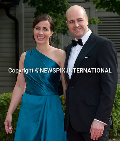 "FREDRIK REINFELDT AND WIFE FILIPPA.PRINCESS VICTORIA_PRE-WEDDING DINNER.hosted by the Swedish Government, Eric Ericsonhallen, Stockholm_18/062010.Mandatory Credit Photo: ©DIAS-NEWSPIX INTERNATIONAL..**ALL FEES PAYABLE TO: ""NEWSPIX INTERNATIONAL""**..IMMEDIATE CONFIRMATION OF USAGE REQUIRED:.Newspix International, 31 Chinnery Hill, Bishop's Stortford, ENGLAND CM23 3PS.Tel:+441279 324672  ; Fax: +441279656877.Mobile:  07775681153.e-mail: info@newspixinternational.co.uk"