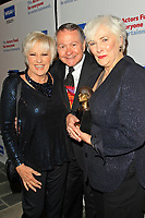 LOS ANGELES - JUN 11: Lorna Luft, John Holly, Betty Buckley at The Actors Fund's 21st Annual Tony Awards Viewing Party at the Skirball Cultural Center on June 11, 2017 in Los Angeles, CA
