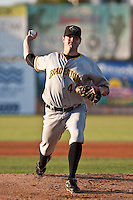 Pitcher Phillip Irwin #48 of the Bradenton Marauders during a game against the Daytona Cubs at Jackie Robinson Ballpark on May 26, 2011 in Daytona Beach, Florida. (Scott Jontes / Four Seam Images)