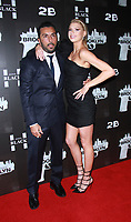 NEW YORK, NY February 07, 2018:Danny A. Abeckaser, Charlotte McKinney attend the New York premere of First We Take Brooklyn hosted by 28 Flims and Danny A. Abeckaser at Regal Battery Park in New York. February 07, 2018. <br /> CAP/MPI/RW<br /> &copy;RW/MPI/Capital Pictures
