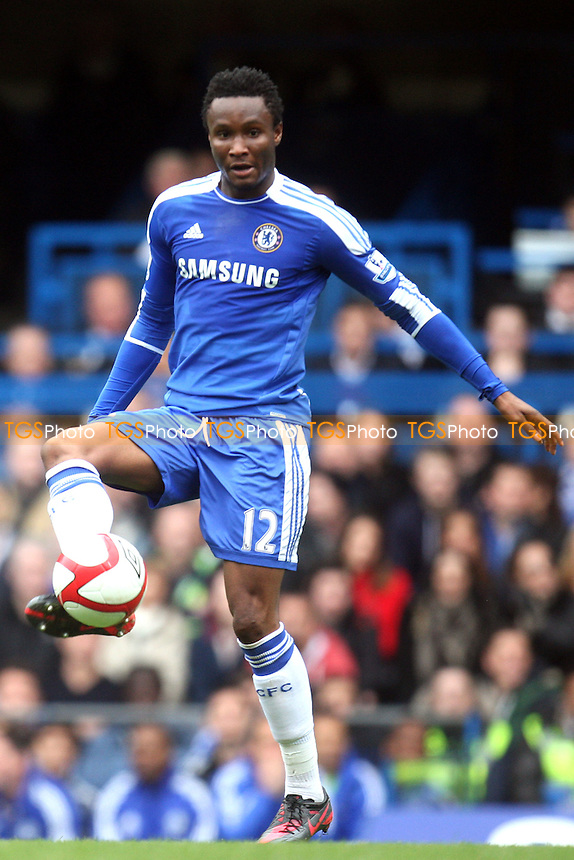 Mikel John Obi of Chelsea -  Chelsea vs Leicester City - at the Stamford Bridge Stadium - 18/03/12 - MANDATORY CREDIT: Dave Simpson/TGSPHOTO - Self billing applies where appropriate - 0845 094 6026 - contact@tgsphoto.co.uk - NO UNPAID USE.