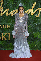 LONDON, UK. December 10, 2018: Winnie Harlow at The Fashion Awards 2018 at the Royal Albert Hall, London.<br /> Picture: Steve Vas/Featureflash