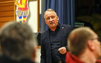 Schiedsrichter Lehrwart Lutz Wagner - Büttelborn 11.02.2019: Vortrag von Schiedsrichterlehrwart Lutz Wagner bei der SKV Büttelborn