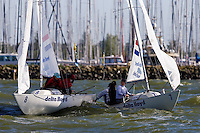 Medemblik - the Netherlands, May 29th 2009. Delta Lloyd Regatta in Medemblik (27/31 May 2009). Day 3.