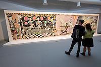 55th Art Biennale in Venice - The Encyclopedic Palace (Il Palazzo Enciclopedico).<br /> Giardini. International Pavilion.<br /> Jean-Fr&eacute;d&eacute;ric Schnyder (Switzerland). &quot;Apocalypso&quot;, 1976-78.