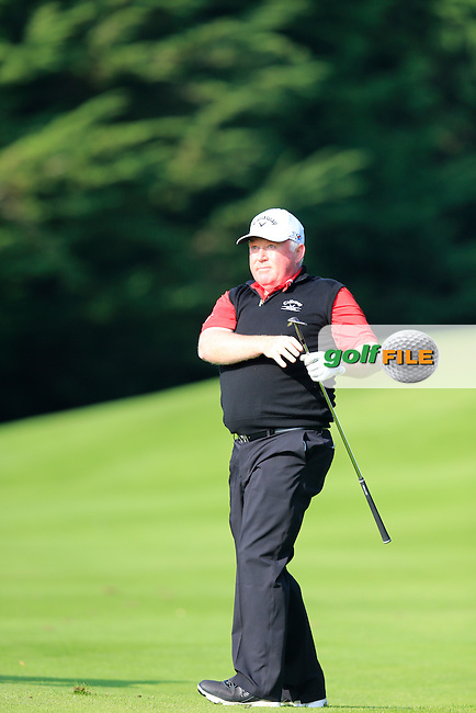Brendan McGovern (Headford GC) during the final round of the Irish PGA Championship, Dundalk Golf Club, Dundalk Co Louth. 04/10/2015<br /> Picture Golffile | Fran Caffrey | PGA<br /> <br /> <br /> All photo usage must carry mandatory copyright credit (&copy; Golffile | Fran Caffrey | PGA)