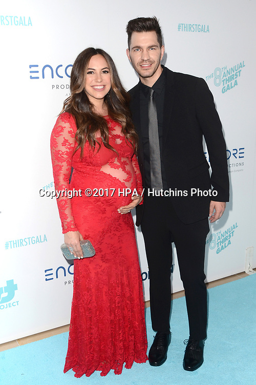 LOS ANGELES - APR 18:  Aijia Grammer, Andy Grammer at the Thirst Gala 2017 at Beverly Hilton Hotel on April 18, 2017 in Beverly Hills, CA