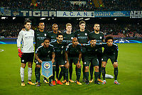 Manchester city during the Champions League Group  soccer match between SSC Napoli - Manchester City   at the Stadio San Paolo in Naples 01 nov 2017