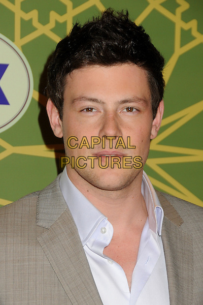 13 July 2013 - Vancouver, British Colombia, Canada - Glee star Cory Monteith was found dead Saturday in his hotel room at the Fairmont Pacific Rim Hotel in Vancouver. He was 31. The cause of death was not immediately apparent. An autopsy was set for Monday. According to police, there were no indications of foul play. They would not discuss what, if anything, was found in room. File Photo: 8 January 2012 - Pasadena, California - Cory Monteith. FOX Winter 2012 All-Star Party held at Castle Green. <br /> CAP/ADM/BP<br /> &copy;Byron Purvis/AdMedia/Capital Pictures