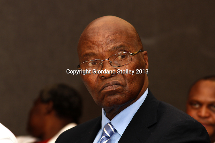 DURBAN - 30 July 2013 - The leader of the Eastern Cape House of Traditional Leaders Ngangomhlaba Matanzima attends a conference of the National House of Traditional Leader in Durban. Picture: Giordano Stolley