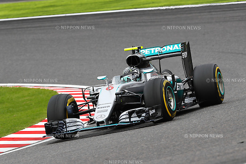 Nico Rosberg (GER), <br /> OCTOBER 9, 2016 - F1 : Japanese Formula One Grand Prix Final <br /> at Suzuka Circuit in Suzuka, Japan. (Photo by Sho Tamura/AFLO) GERMANY OUT