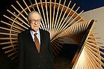 Milano, Museo della tecnica e della scienza.20 ottobre 2003.Ritratto Donald Glaser