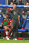 15.08.2018,  GER; FBL, Testspiel, Hamburger SV vs FC Bayern Muenchen ,DFL REGULATIONS PROHIBIT ANY USE OF PHOTOGRAPHS AS IMAGE SEQUENCES AND/OR QUASI-VIDEO, im Bild Trainer Nico Kovac (Bayern) an der Seitenlinie Foto © nordphoto / Witke