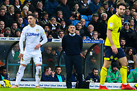 Blackburn Rovers manager Tony Mowbray shouts instructions to his team from the technical area<br /> <br /> Photographer Alex Dodd/CameraSport<br /> <br /> The EFL Sky Bet Championship - Leeds United v Blackburn Rovers - Wednesday 26th December 2018 - Elland Road - Leeds<br /> <br /> World Copyright © 2018 CameraSport. All rights reserved. 43 Linden Ave. Countesthorpe. Leicester. England. LE8 5PG - Tel: +44 (0) 116 277 4147 - admin@camerasport.com - www.camerasport.com