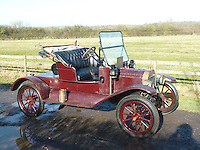 BNPS.co.uk (01202 558833)<br /> Pic: PhilYeomans/BNPS<br /> <br /> Yours for &pound;24,750 - 1914 Model T 'English Torpedo'<br /> <br /> Garage that time forgot...<br /> <br /> Business is booming at Neil Tuckets time warp garage in the heart of Buckinghamshire - Where you can by any car&hellip;as long as its a Model T Ford.<br /> <br /> Despite his newest models being nearly 90 years old, Neil struggles to keep up with demand with customers snapping up one a week, despite their rudimentary levels of comfort and trim.<br /> <br /> Neil sources his spares from all over the globe and carefully puts the machines back together again.<br /> <br /> 'There like a giant meccano set really, and so beautifully simple and reliable they just won't let you down...You also don't require road tax or and MOT!'