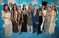 LOS ANGELES, CA - OCTOBER 27: Ahna O'Reilly, Alexander Fankuchen, Brittany Letto, Brittany Ross, Romi Mouillon, Danielle E. Simmons, Matthew Herman, Alex Schmider, Corinne Crockett, Alex Fadil, at UNICEF Next Generation Masquerade Ball Los Angeles 2017 At Clifton's Republic in Los Angeles, California on October 27, 2017. Credit: Faye Sadou/MediaPunch /NortePhoto.com