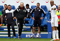 Swansea City Manager Francesco Guidolin  during the Barclays Premier League match between Leicester City and Swansea City played at The King Power Stadium, Leicester on April 24th 2016