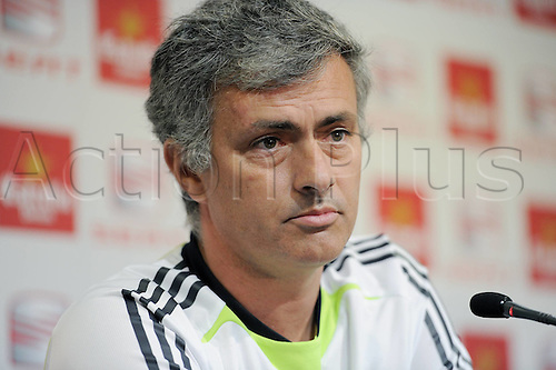 19 04 2011  Football International Copa DEL Rey Final Real Madrid Press conference team manager Jose Mourinho