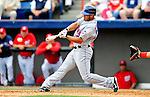 1 March 2011: New York Mets' outfielder Fernando Martinez in action during a Spring Training game against the Washington Nationals at Space Coast Stadium in Viera, Florida. The Nationals defeated the Mets 5-3 in Grapefruit League action. Mandatory Credit: Ed Wolfstein Photo