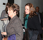 Nancy Pelosi and Christine Pelosi attend the Broadway Opening Night Performance of 'All The Way' at The Neil Simon Theatre on March 6, 2014 in New York City.