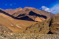 Pangong Lake Road, Ladakh, Jammu and Kashmir State, India.