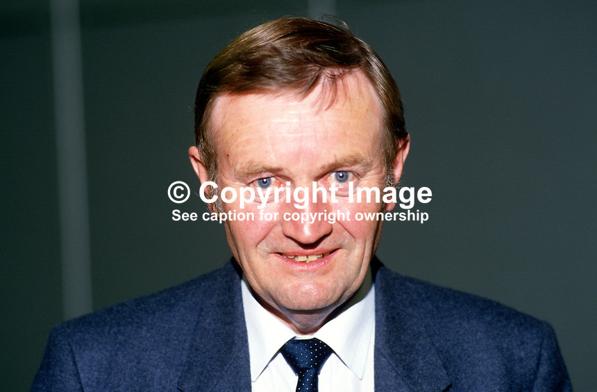 Patrick Wall, MP, Labour Party, UK, 19870924PW2..Copyright Image from Victor Patterson, 54 Dorchester Park, Belfast, UK, BT9 6RJ..Tel: +44 28 9066 1296.Mob: +44 7802 353836.Voicemail +44 20 8816 7153.Skype: victorpattersonbelfast.Email: victorpatterson@me.com.Email: victorpatterson@ireland.com (back-up)..IMPORTANT: If you wish to use this image or any other of my images please go to www.victorpatterson.com and click on the Terms & Conditions. Then contact me by email or phone with the reference number(s) of the image(s) concerned.