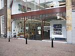Art gallery shop in Voorstraat Noord, Dordrecht, Netherlands