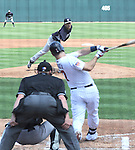 Masahiro Tanaka (Yankees), Joe Mauer (Twins),<br /> MARCH 22, 2014 - MLB : Masahiro Tanaka of the New York Yankees pitches against Joe Mauer of the Minnesota Twins during a spring training baseball game at Hammond Stadium in Fort Myers, Florida, USA.<br /> (Photo by AFLO)