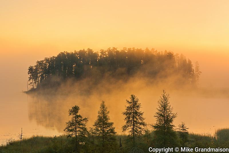 Isabel Lake at sunrise<br /> Kenora<br /> Ontario<br /> Canada