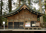 Shinkyo Sacred Horse Stable Sansaru Three Monkeys Sculpture Panels Hidari Jingoro Tanyu School Mitsuda-e Nikko Toshogu Shrine Nikko Japan