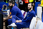 Pau Ribas of FC Barcelona Lassa during Turkish Airlines Euroleague match between Real Madrid and FC Barcelona Lassa at Wizink Center in Madrid, Spain. December 13, 2018. (ALTERPHOTOS/Borja B.Hojas)