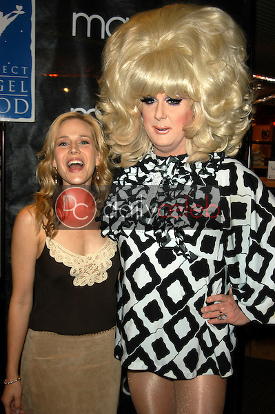 Julie Benz and Lady Bunny