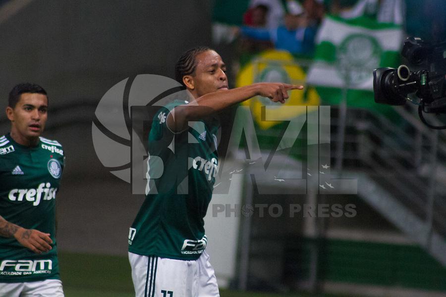 SÃO PAULO,SP, 26.05.2018 – Palmeiras - Sport – Keno do Palmeiras durante partida contra o Sport, válido pela oitava rodada do Brasileiro 2018, no Allianz Parque em São Paulo, na noite deste sabado, 26. (Foto: Danilo Fernandes/Brazil Photo Press)