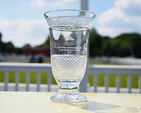 The British Stallion Studs EBF Cathedral Stakes (Listed)(Class 1), trophy during Father's Day Racing at Salisbury Racecourse on 18th June 2017