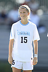 09 September 2012: UNC's Katie Bowen (NZL). The University of North Carolina Tar Heels defeated the University of San Diego Toreros 5-0 at Koskinen Stadium in Durham, North Carolina in a 2012 NCAA Division I Women's Soccer game.