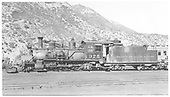 Fireman's-side view of D&amp;RGW #375 in Durango yard.<br /> D&amp;RGW  Durango, CO  Taken by Maxwell, John W. - 6/4/1940