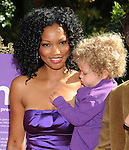 LOS ANGELES, CA. - November 07: Garcelle Beauvais-Nilon arrives at the March of Dimes 4th Annual Celebration of Babies at the Four Seasons Hotel on November 7, 2009 in Los Angeles, California.