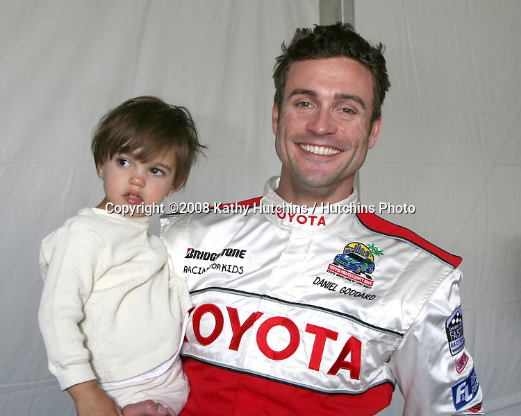 Daniel Goddard & Son Ford.Toyota Grand Prix Pro Celeb Press Day '08.Long Beach, CA.April 8, 2008.©2008 Kathy Hutchins / Hutchins Photo....