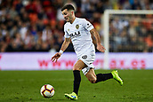 17th March 2019, Mestalla Stadium, Valencia, Spain; La Liga football, Valencia versus Getafe; Jose Gaya of Valencia CF in action
