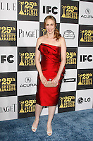 US actress Vera Farmiga arrives at the 25th Independent Spirit Awards held at the Nokia Theater in Los Angeles on March 5, 2010. The Independent Spirit Awards is a celebration honoring films made by filmmakers who embody independence and originality..Photo by Nina Prommer/Milestone Photo