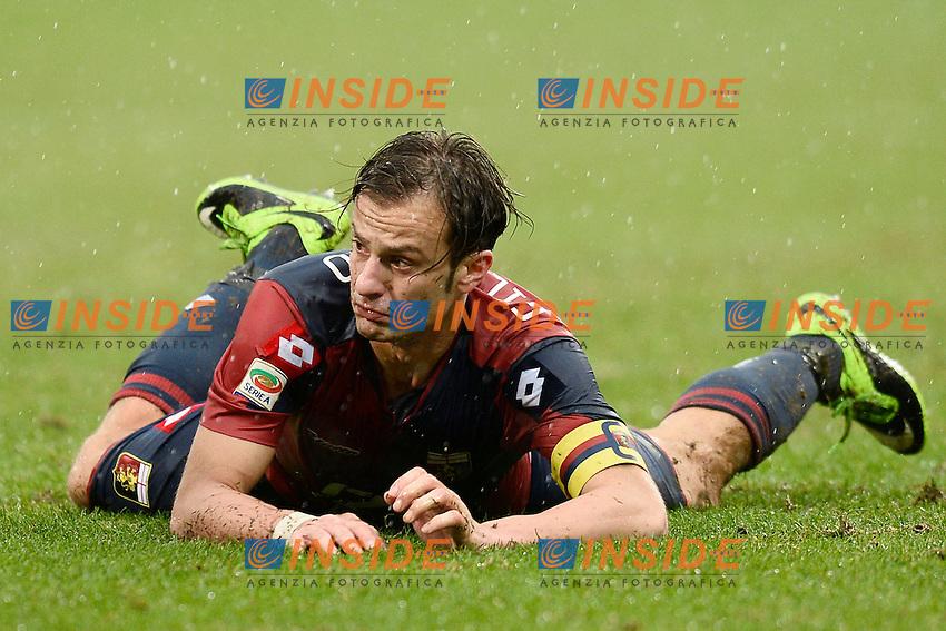 Alberto Gilardino Genoa <br /> Genova 19-01-2014, Stadio Marassi, Football Calcio 2013/2014 Serie A, Genoa - Inter, Foto Daniele Buffa/Imagesport/Insidefoto