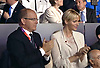 "PRINCESS CHARLENE (sporting a new hair style) AND PRINCE ALBERT OF MONACO.The Opening Ceremony of the London2012 Olympics was attended by several memebers of Royalty_27/07/2012.Mandatory Credit Photo: NEWSPIX INTERNATIONAL..**ALL FEES PAYABLE TO: ""NEWSPIX INTERNATIONAL""**..IMMEDIATE CONFIRMATION OF USAGE REQUIRED:.Newspix International, 31 Chinnery Hill, Bishop's Stortford, ENGLAND CM23 3PS.Tel:+441279 324672  ; Fax: +441279656877.Mobile:  07775681153.e-mail: info@newspixinternational.co.uk"