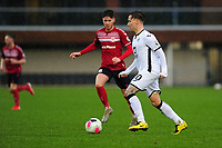 Barrie McKay of Swansea City u23s' in action during the Premier League 2 Division Two match between Swansea City u23s and Middlesbrough u23s at Swansea City AFC Training Academy  in Swansea, Wales, UK. Monday 13 January 2020.