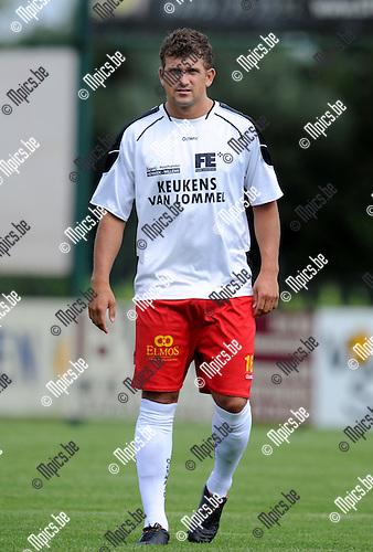 2012-08-01 / Voetbal / seizoen 2012-2013 / KFC Oosterzonen / Niels Prud'Homme..Foto: Mpics.be