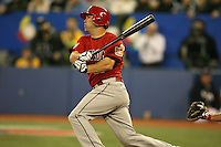 March 7, 2009:  Shortstop Chris Barnwell (13) of Canada during the first round of the World Baseball Classic at the Rogers Centre in Toronto, Ontario, Canada.  Team USA defeated Canada 6-5 in both teams opening game of the tournament.  Photo by:  Mike Janes/Four Seam Images
