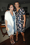Lauri Firstenberg, Frances Pennington==<br /> LAXART 5th Annual Garden Party Presented by Tory Burch==<br /> Private Residence, Beverly Hills, CA==<br /> August 3, 2014==<br /> &copy;LAXART==<br /> Photo: DAVID CROTTY/Laxart.com==