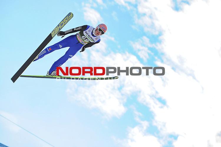 Innsbruck, Austria 03.01.2014 <br /> 2013-14 Vierschanzentournee, <br /> FIS Ski Jumping World Cup <br /> Severin Freund of Germany in action during the FIS Ski Jumping World Cup Vierschanzentournee on January 3, 2014 in Innsbruck, Austria.<br /> <br /> Foto &not;&copy; nph / Pier Paolo Piciucco