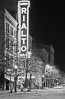 The Rialto Theater is a famed local theater in Downtown Joliet, Illinois