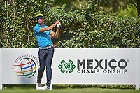 Rafael Cabrera Bello (ESP) watches his tee shot on 17 during the preview of the World Golf Championships, Mexico, Club De Golf Chapultepec, Mexico City, Mexico. 2/28/2018.<br /> Picture: Golffile | Ken Murray<br /> <br /> <br /> All photo usage must carry mandatory copyright credit (&copy; Golffile | Ken Murray)